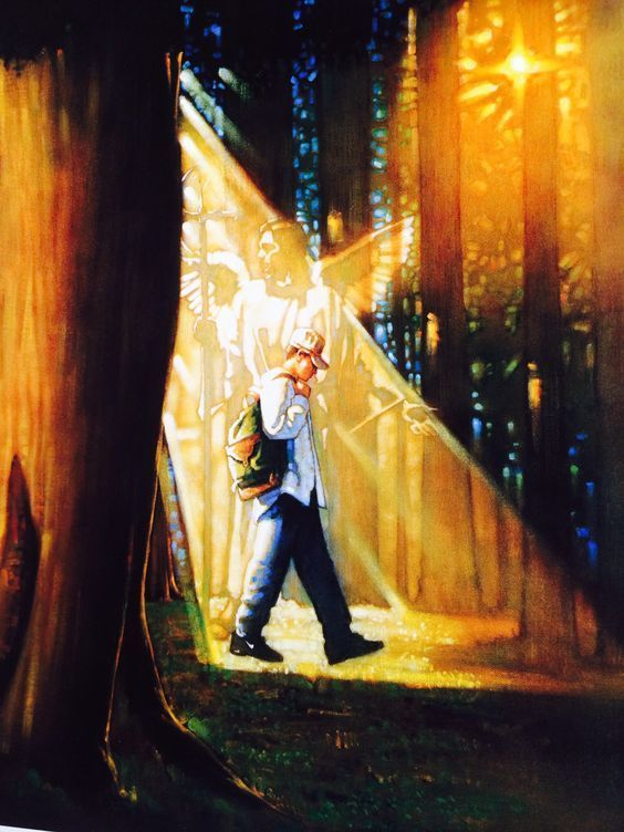 Служението на ангелите